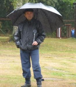 Le juge, Franz BEJOTTES, philosophe sous la pluie.